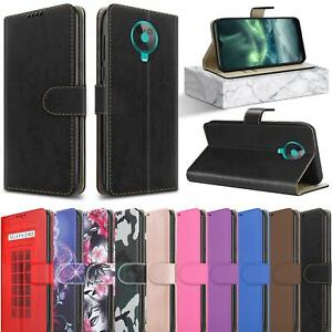 For Nokia G10 Case Slim Leather Wallet Magnetic Flip Stand Card Slot Phone Cover