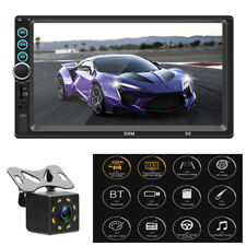 """7"""" 2Din Car Radio Audio Stereo Bluetooth Video MP5 Multimedia Player With Camera"""