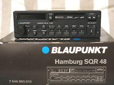 Autoradio Blaupunkt Hamburg SQR 48 TOP mit Originalverpackung RARITÄT