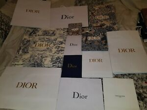Dior, Gift Bags, Used, nice condition