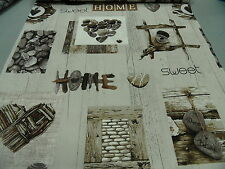 "tejido patchwork All over de Stof ""Sweet HOME"" 60 x 110cm NUEVO 100%BW"