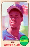 1993 Baseball Card Magazine '68 Topps Replicas Baseball SC37 Ken Griffey Jr.