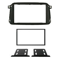 Radio Rahmen 2DIN schwarz Smart Fortwo 10>14