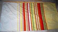 ESPRIT Home QUEEN Reversible Paisley Stripe Duvet  Cover 2 Pillow Case Set  EUC
