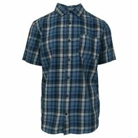 Vans Off The Wall Men's Coronet Blue Cleaned-J S/S Woven Shirt (Retail $44)