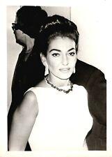 MARIA CALLAS Opera Soprano VINTAGE photo - unusual