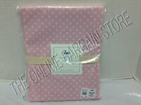 Pottery Barn Kids Mini Polka Dot dottie Bathroom Bath Shower Curtain Pink 72""