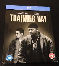 TRAINING DAY Blu-Ray SteelBook Zavvi UK Exclusive Region Free Denzel Washington