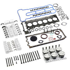 Engine Overhaul Pistons Gasket Kit For BMW 335i E90 E92 E88 E60 E71 F02 N54 3.0