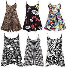 Scoop Neck Skater Casual Sleeveless Dresses for Women