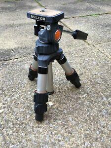 SLIK MINI-Tripod with adjustable legs & pan & tilt