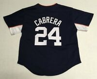 Detroit Tigers Miguel Cabrera Baseball Official MLB Majestic Youth Jersey New