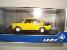 Miniature Simca 1000 Rally 2 1974 Yellow/Black 1/43 Solido