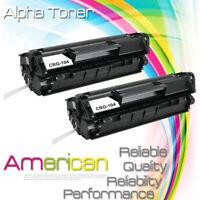 2 Black 104 FX9 FX10 Toner Cartridge For Canon 104 ImageClass D420 D480 MF4370dn