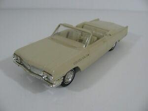 Vintage AMT Friction Drive 1963 Buick Electra 225 Convertible Dealer Promo EX