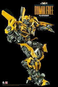 Threezero Transformers The Last Knight Bumblebee DLX Collectible Figure PRESALE