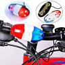Kid Cycling Bike 6 LEDs Electric Horn 4 Sounds Bicycle Police Siren Lights❤T