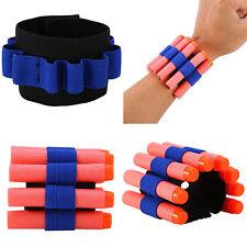 Bullet Dart Ammo Storage Flexible Wrist Belt Band Strap for 8EVA Bullet Gun Set*