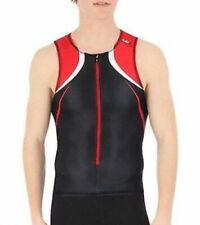 Louis Garneau Men's Tri Elite Course Sleeveless Tri Top Medium