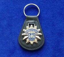 German Federal Police Leather Key Ring #Border Patrol