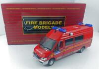 Fire Brigade Models  London Red Police Van 1/43