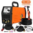 HITBOX TIG Welder Pulse 200A 110/220V Stick ARC MMA TIG Digital Welding Machine