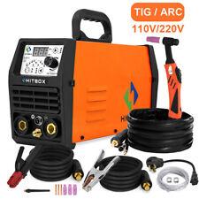 Hitbox Intelligent Tig Welder 110v220v Pulsetigmmaarc Igbt Welding Machine