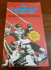 THE CANADA / RUSSIA GAMES 1972 HOCKEY'S SERIES OF THE CENTURY  VHS VIDEOTAPE