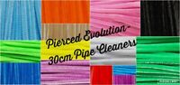 "Pipe Cleaners 30cm Chenille Craft Stems 12"" Childrens Crafts Supplies Kids Art"