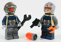 LEGO STAR WARS CANTINA PILOTS MINIFIGURE PACK - MADE OF GENUINE LEGO PARTS