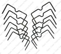 Dozen Papio Creek Weld-On Trap Stabilizer Center Locator Leg-Hold Traps USA Made