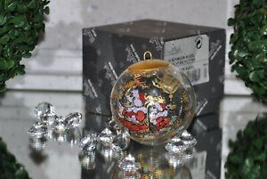 """ROSENTHAL """"Weihnachtsschlitten"""" NEU .ღஐƸ̵̡Ӝ̵̨̄Ʒஐღ.. Weihnachtskugel OVP"""