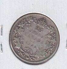 1936 CANADA  25 Cents DOT