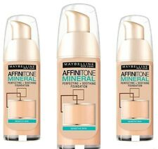 Maybelline Affinitone Mineral Foundation SPF 18  20 Cameo 30ml *Free & Fast P&P*