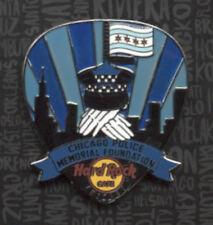 Hard Rock Cafe Chicago Fallen Heroes 2017 Chicago Police Memorial Foundation Pin