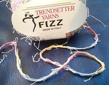Trendsetter FIZZ Yarn Beautiful MULTI COLOR & TEXTURE Novelty   50 Grams