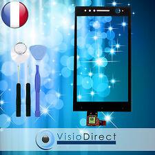 Vitre ecran tactile pour Sony Xperia U ST25i noir + outils