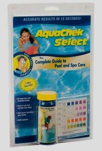 AquaChek Select COMPLETE POOL & SPA MAINTENANCE TEST KIT Hot Tub 7-Way Strips +
