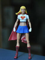"DC Universe 6"" Action Figures Super Hero Superman SUPERGIRL Loose Toy"