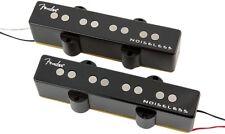 Genuine Fender GEN 4 Noiseless Jazz/J Bass Pickups Set - BLACK
