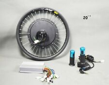 20'' 48V 500W Front Wheel E-bike Conversion Kit Electric Bike Modified Parts