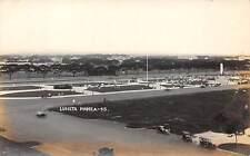 MANILA, PHILIPPINE ISLANDS ~ LUNETA OVERVIEW, REAL PHOTO PC ~ c. 1910-20