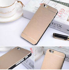 "Brushed Metal Motomo Hard Back Skin Case Cover For Apple iPhone 6 - 4.7"" inch"