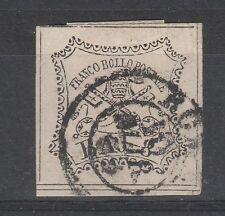 FRANCOBOLLI 1852 STATO PONTIFICIO 8 BAJ C/8558