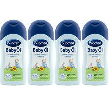 Bübchen BABY ÖL SENSITIV 4 x 200 ml für zarte Babyhaut mit Sheabutter