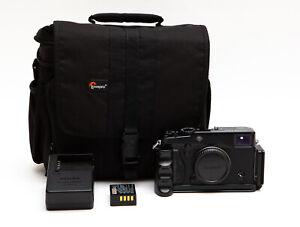 Fujifilm X-Pro1 X Pro 1 16.3MP Mirrorless Digital Camera (Black) +  Extras! USA
