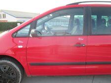 Tür vorne links VW Sharan 2000-2010 tornadorot LY3D rot