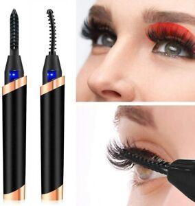 Eyelash Curler Portable Electric Heating USB Charging Curling Beauty Makeup Tool