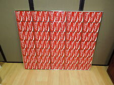 """Antique COCA COLA Tin Can Unrolled factory blank frameed Print Sz 35 x 41"""" COKE"""