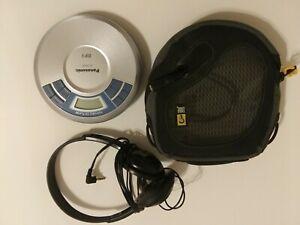 Panasonic SL-SX450 Portable CD MP3 Player Anti-Shock Player VTG Silver Blue-A01